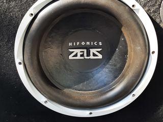 """Hifonics Zeus  размер динамика""""12"""".Долбит на все деньги !"""