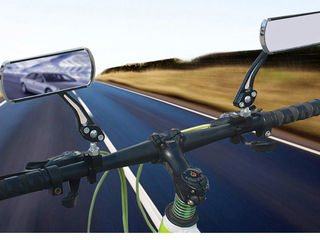 Велосипедные Зеркала заднего вида - алюминий и стекло, цвет черный - пара - 450 лей, торг  360 Повор