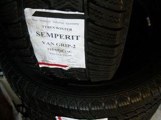 Semperit Winter 215/65 R16C идеальная- срочно