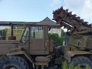 T 150 Полковая землеройная машина ПЗМ является универсальной землеройной машиной замена экскаватора