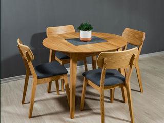 Masa geneva (stejar) - mobilier în stil scandinav.