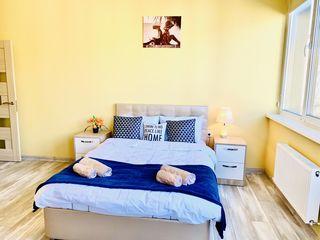 Apartament nou centru Chisinau - chirie pe noapte, 24 ore, saptamina si luna.