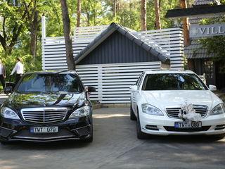Mercedes-benz S-class AMG, alb&negru pentru Nunta ta!!! 110€/zi
