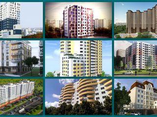 Apartamente noi in toate sectoarele al Chisinaului. De la 350 euro!