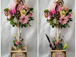 Оригинальные букеты и композиции из искусственных цветов,букет невесты,букеты из конфет