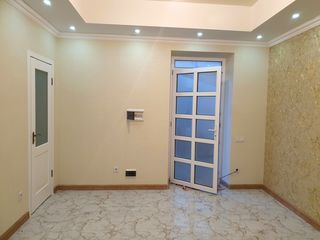 55м2. 2 комнаты с ремонтом + свой дворик.  Новострой. Буюканы. Отдельный вход.