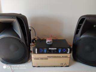Amplificator, Boxe , amplificator (2500 lei) !!!,,  boxe 4000 lei )  ;