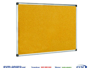 Доска маркерная офисная   пробковая корка officeline 60x90 алюминиевая  рамка ol.bd.31