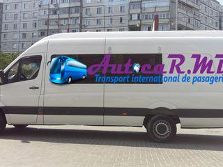 Romania – Bucuresti, Iasi, Vaslui. Transport de Pasageri. Zilnic.