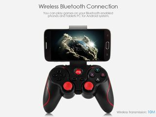 Беспроводной джойстик bluetooth 4,0 android геймпад.Мышь для android tv box.
