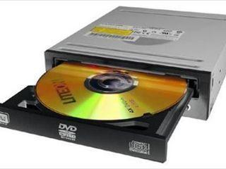 Рабочие сд приводы CD ROM / DVD RW, с кабелем IDE, PATA