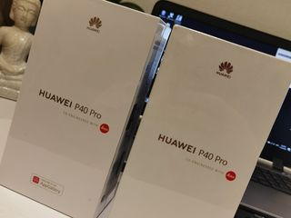 Huawei p40 pro (silver, black) nou sigilat, новый! запечатанный! never locked