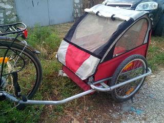 Продам детский велоприцеп!