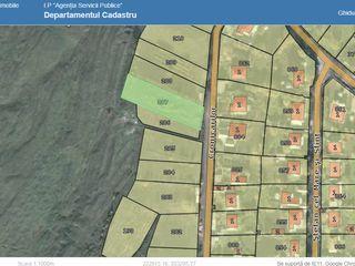 Teren pentru construcție 0,12 ha localitatea Dănceni