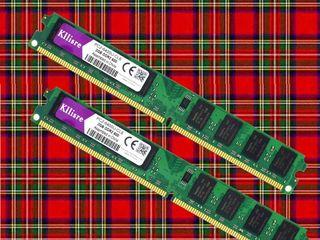 Универсальная DDR PC6400 (800 MHz) по 2 GB новые, одинаковые, в паре могут работать в дуальном режим