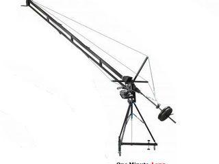 Se vinde macara profesionala pentru filmari + cap rotativ wireless + follow focus wireless 2550 euro
