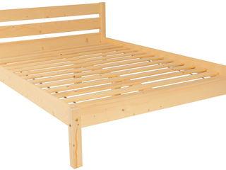 Pat din lemn ARA, simplu, modern şi ieftin!