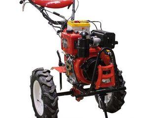 Motocultor 10 c.p. hwasdan hsd1g-135e, diesel, reductor/livrare gratuita/garantie/credit 0%!!