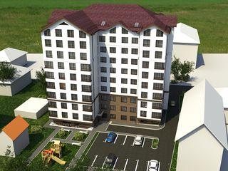 Apartamente în rate cu 1,2,3 odăi in Ialoveni, Centru, str. Petru Movila 1