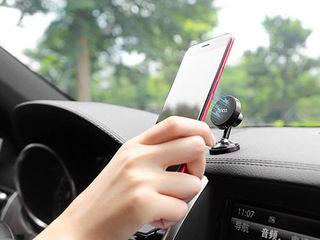 Автомобильный держатель для телефона, suport pentru telefon Hoco de la 99 lei ! Автодержатель