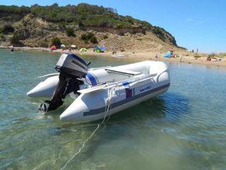 Barca cu motor cu documente stare buna