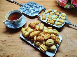 Forme biscuiti intregi asorti (nuci, ciuperci 2 feluri, con). Model nou.
