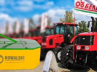 При покупке трактора Belarus - косилка Kowalski в подарок