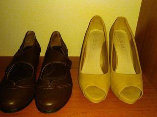 туфли натуральная кожа б/у