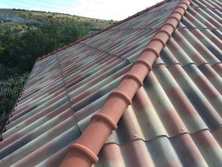 100 m2- 15000 lei :Sifer tegolit Italian fără azbest :acoperis valabil 100 ani !