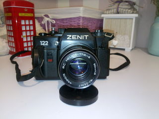 Zenit 122 + объектив MC Helios-77м-4 50 f1.8,Юпитер 37А 135мм F3.5