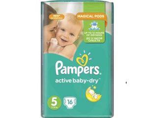 Pampers подгузники Regular 5, 11-18кг. 16шт