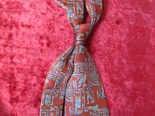 галстук H-Damiani(египетский мотив).