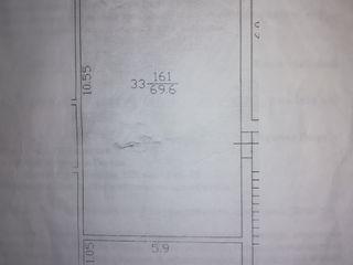 Продаются большая 2 комнатная квартира в центре комрата