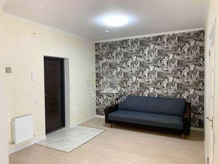 Apartament cu 1 camera + living, bloc nou, euroreparatie!