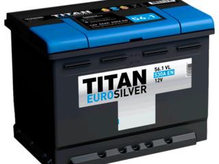 Авто аккумулятор Titan EuroSilver 6CT-56.0 VL 530 A