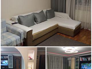 Vind apartament cu 3 odai mobilat in or. telenesti