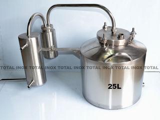 Самогонный аппарат из пищевой нержавейки на 25 л - 2500 лей