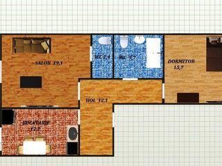 Двух комнатная по цене однушки, в новострое с евроремонтом и автономным отоплением!!!