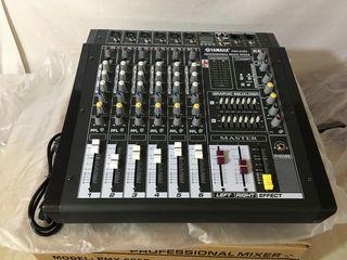 Mixer activ,, yamaha pmx-808d''cu usiliteli : -bluetooth, -flachca !!! mixer activ cu 6canale