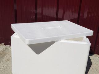 Ящик из жёсткого  пенопласта. Объём - 60 литров
