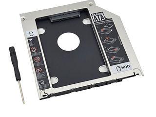 Салазки в ноутбук, меняем DVD на SSD,HDD