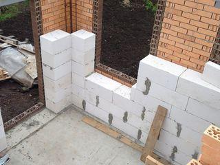 Работы по заливке бетона, кладке, штукатурке, стяжке