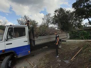 Уборка территорий,участков  вывоз мусора  спил  деревьев