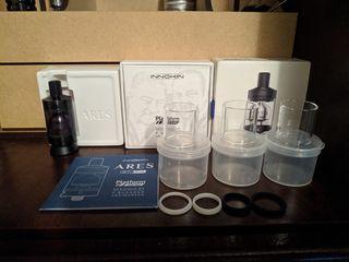 Продам атомайзер Gnome King, Ares MTL RTA, мод Pico Dual, Sony VTC6 аккумуляторы электронной сигарет