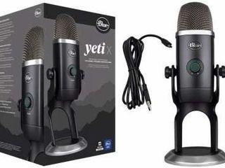 Новый микрофон для стримов и подкастов Blue Microphones Yeti X