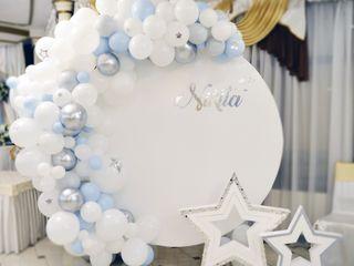 Fotopanouri / decor botez / decor cu baloane