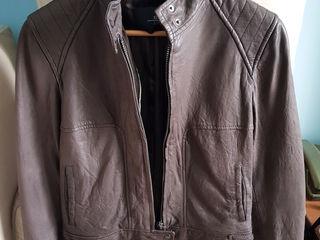 Коричневая куртка, натуральная кожа, Испания, размер S