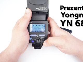 Новинка  !!! вспышка yongnuo speedlite yn-685 с триггером внутри ! yn685+yn622