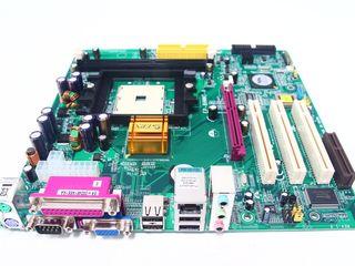 Продам материнскую плату EPoX EP-8HMMI-A Socket 754 + подарок