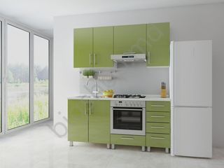 Bucatarie Fabric home Concord Olive 1.6 m. Livrare gratuită!!